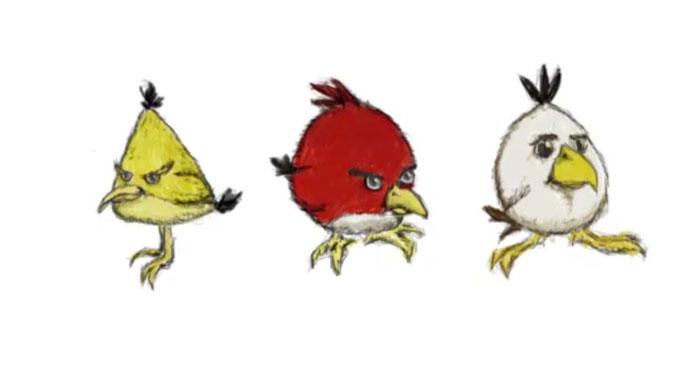Рисуем «Злых птичек» за 5 минут!