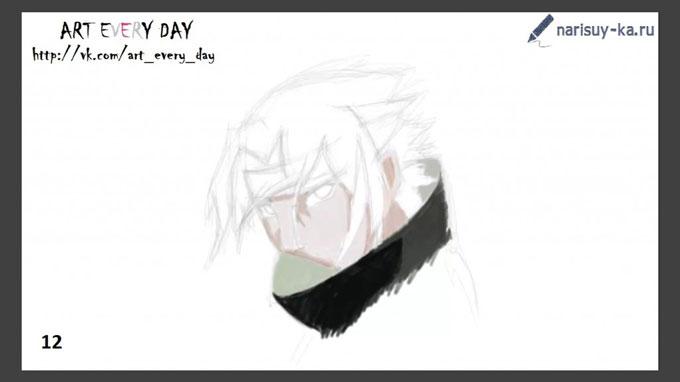 Как нарисовать аниме наруто