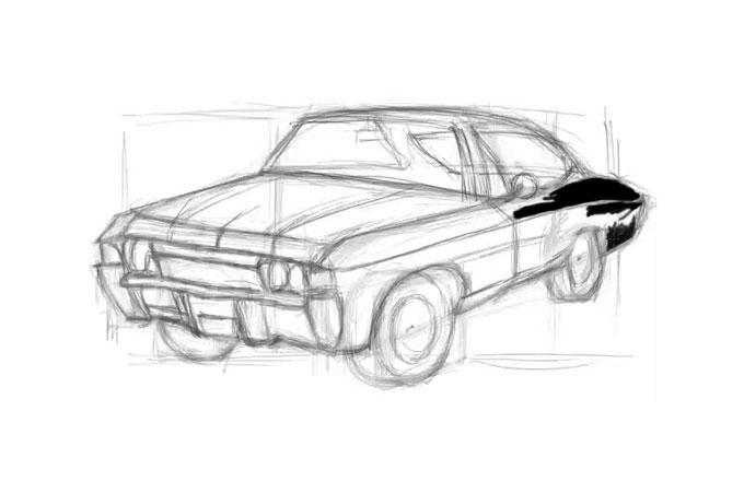 Как нарисовать машину: http://narisuy-ka.ru/kak-narisovat-mashinu-poetapno-karandashom/print