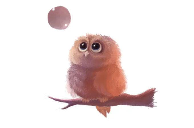 Как нарисовать сову поэтапно карандашом