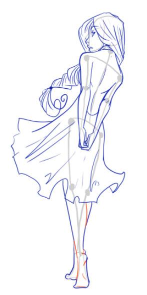 Как нарисовать женскую фигуру