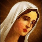 Рисовать Деву Марию (шаг за шагом)