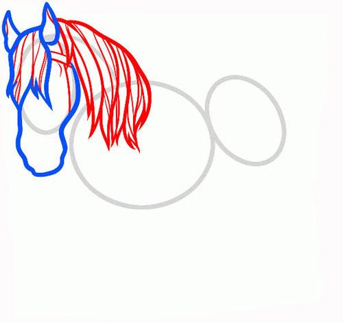 Рисуем гриву
