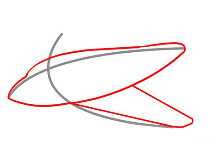 Придаем форму корпуса и крыла