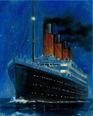 Рисуем Титаник