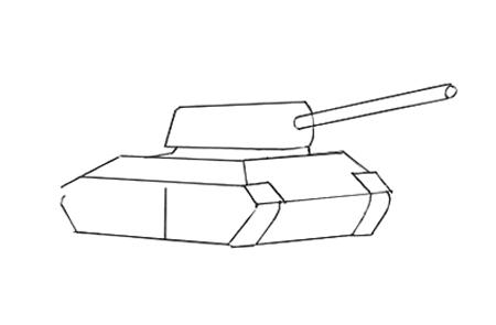 Рисуем башню и пушку танка Т-34