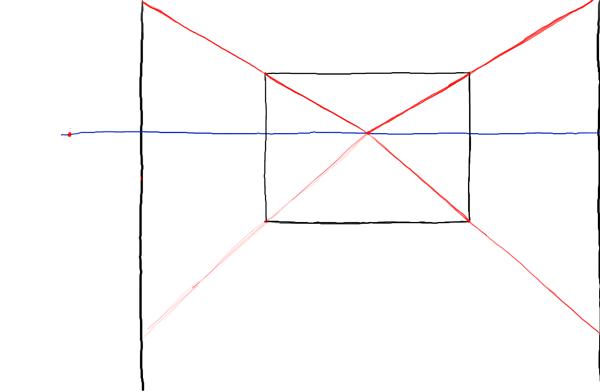 Рисуем линии комнаты