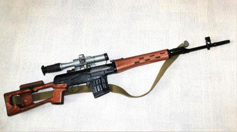 Как нарисовать винтовку