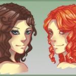 Сегодня расскажем, как рисовать волосы, кудри, локоны