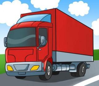 Учимся как нарисовать грузовик