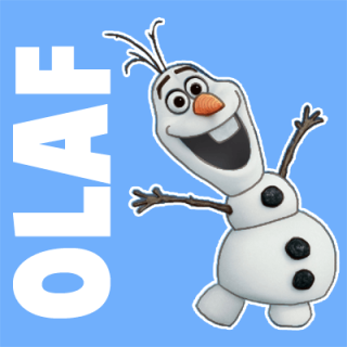 "Рисуем снеговика Олафа из мультфильма ""Холодное сердце"""