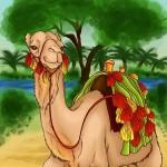 Практикуемся, как нарисовать верблюда