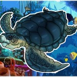 Учимся, как нарисовать черепаху поэтапно